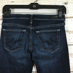 Ag Adriano Goldschmied Jeans - AG Jeans Cigarette Roll Up Jeans